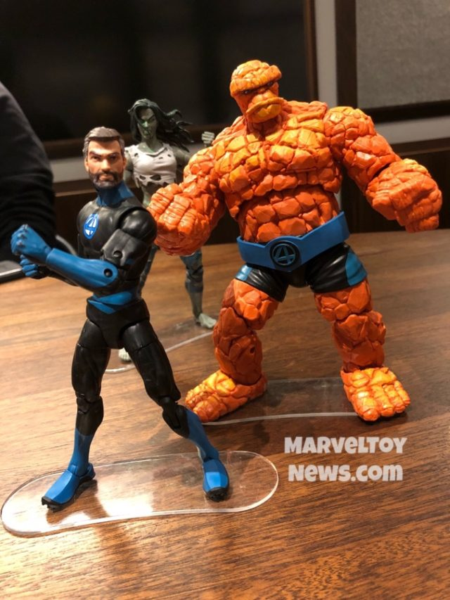 Fantastic Four Marvel Legends Mr. Fantastic and The Thing Figures NYCC 2019