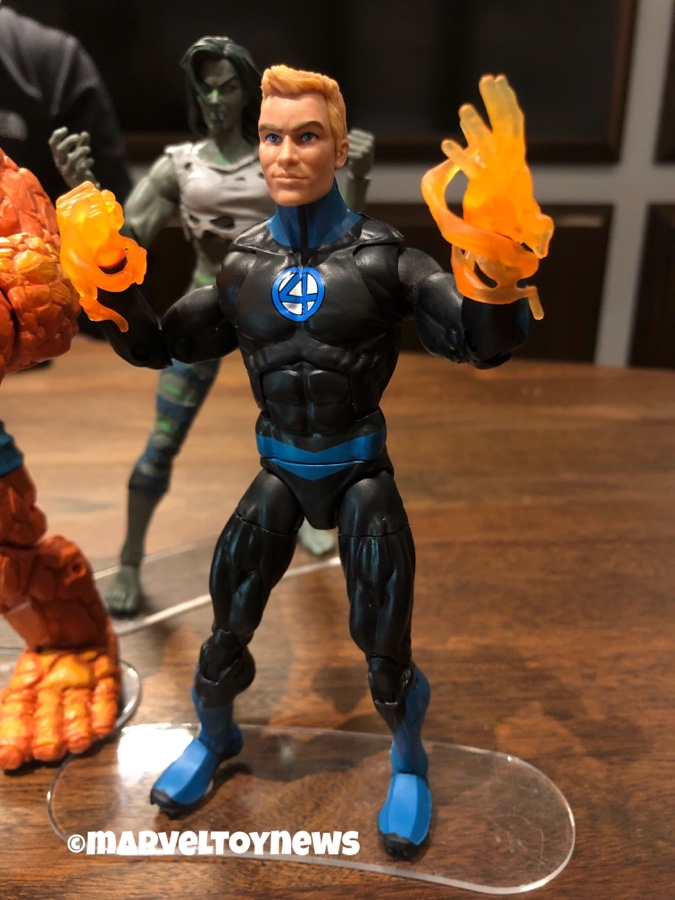 "Marvel Legends 6/"" Inch Walgreens Fantastic Four 4 Human Torch Loose Complete"