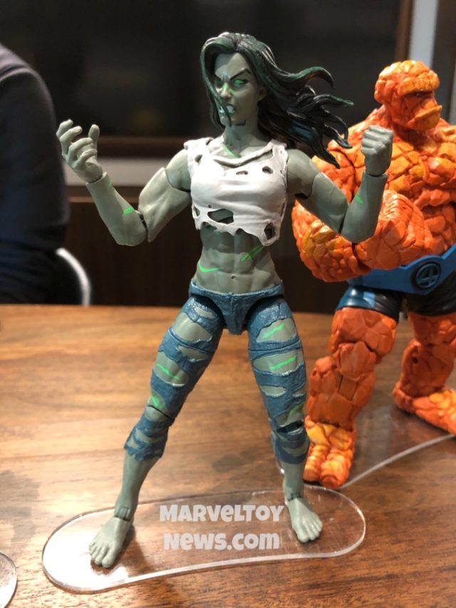 NYCC 2019 Fantastic Four Legends She-Hulk Figure