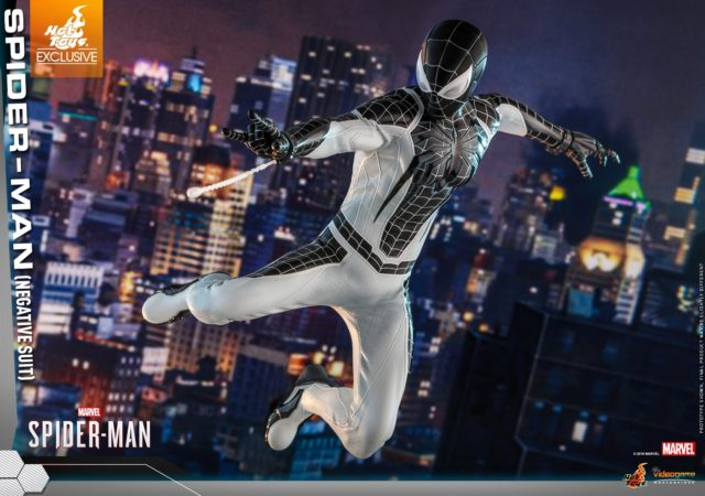 Hot Toys Spider-Man Negative Suit Exclusive Sixth Scale Figure