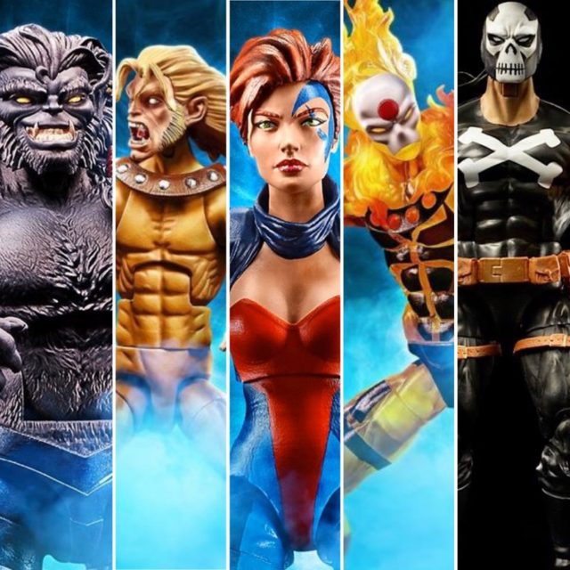 Marvel Legends X-Men Age of Apocalypse Series Figures Revealed
