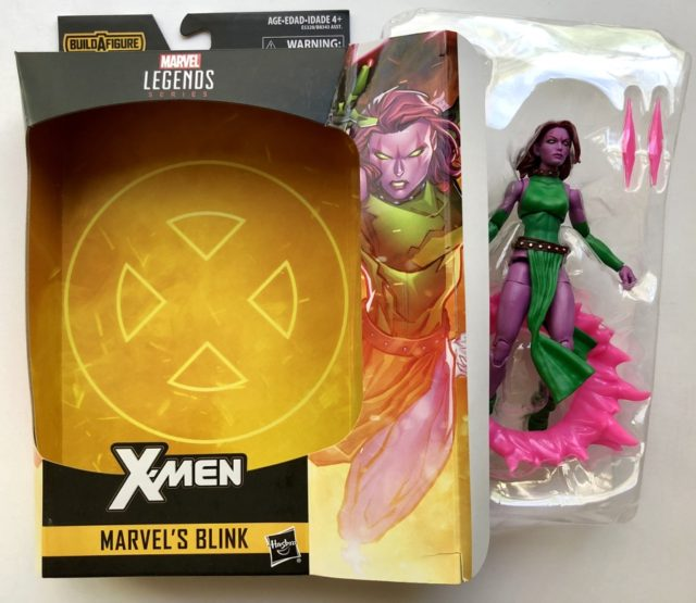X-Men Marvel Legends Blink Unboxing