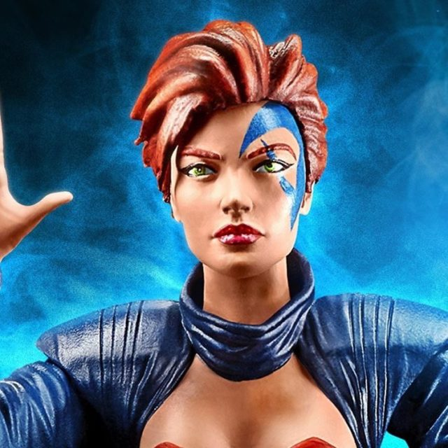 Close-Up of Age of Apocalypse Jean Grey Marvel Legends Figure