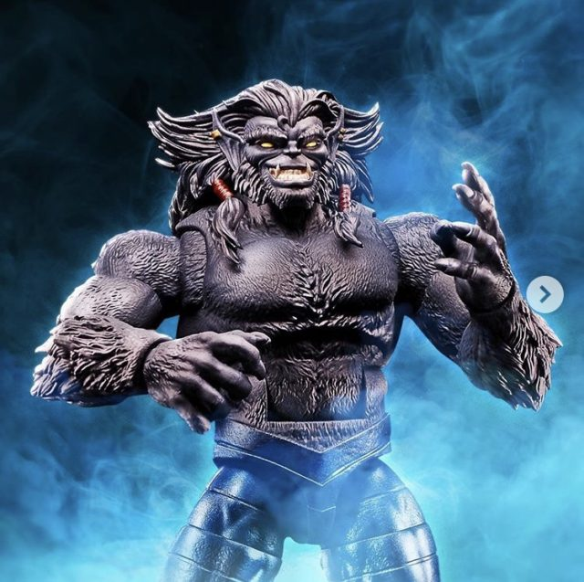 Marvel Legends AOA Dark Beast Figure Close-Up