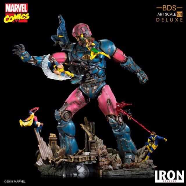 Iron Studios Sentinel vs. X-Men Diorama