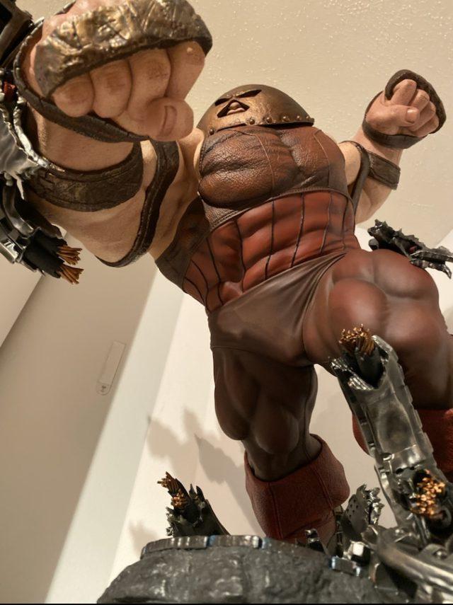 Review Sideshow Collectibles Juggernaut Maquette Statue