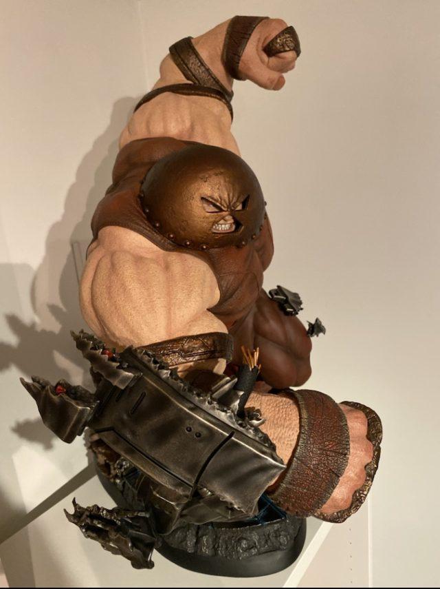 Juggernaut Sideshow Maquette Review Overhead View