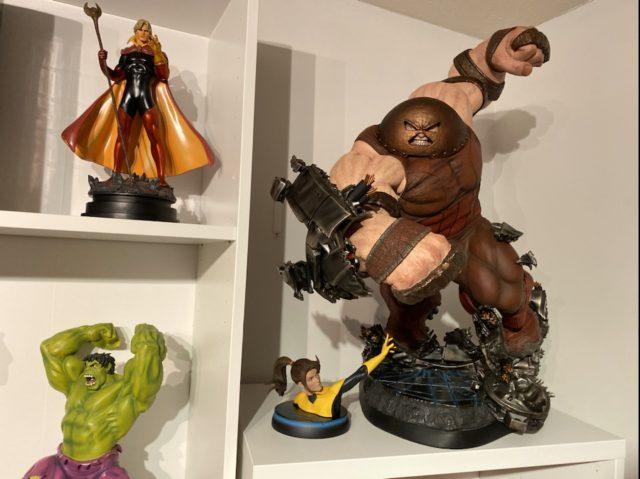Size Comparison Bowen Designs Hulk vs. Sideshow Juggernaut