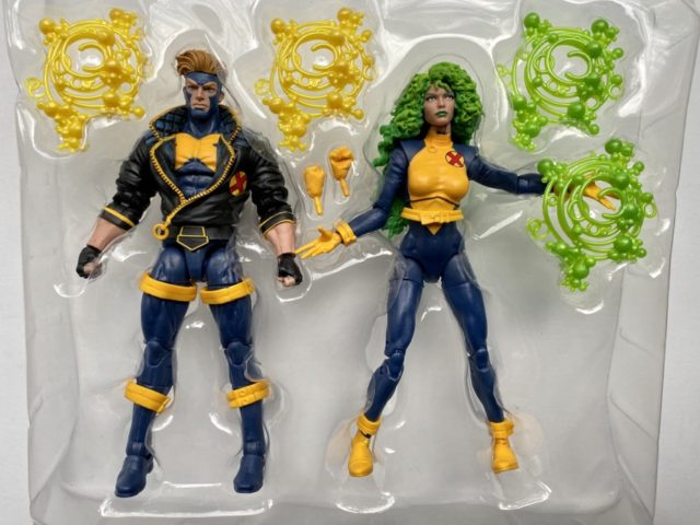 80th Anniverary Marvel Legends Polaris Havok Two-Pack and Accessories