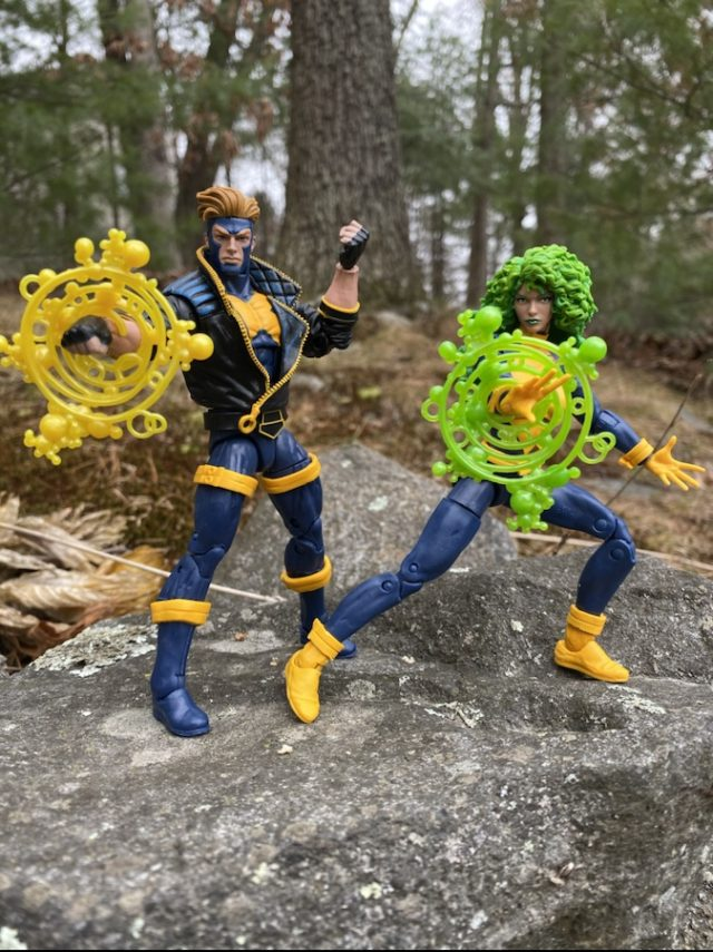 Review Marvel Legends 80 Years Polaris Havok Exclusive 2-Pack