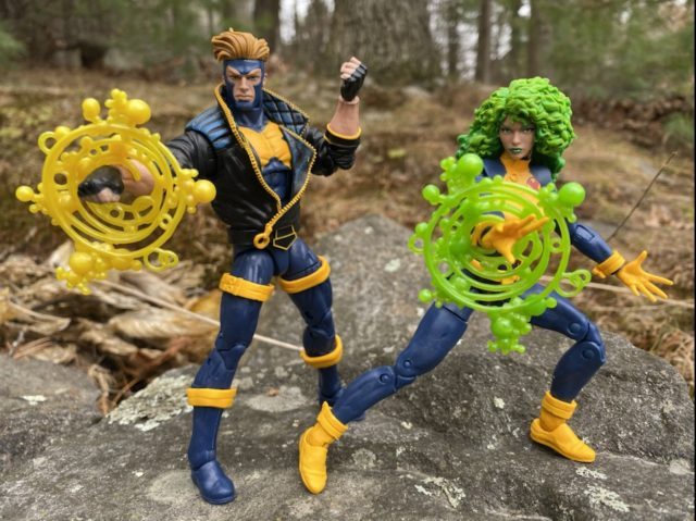 Marvel Legends Havok & Polaris Review