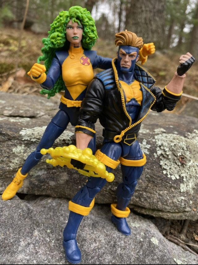 Marvel Legends X-Men 80 Years Havok and Polaris Pack Review