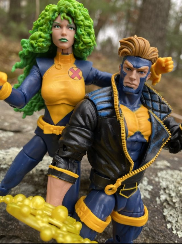 X-Men Marvel Legends X-Factor Havok Polaris Review Fists