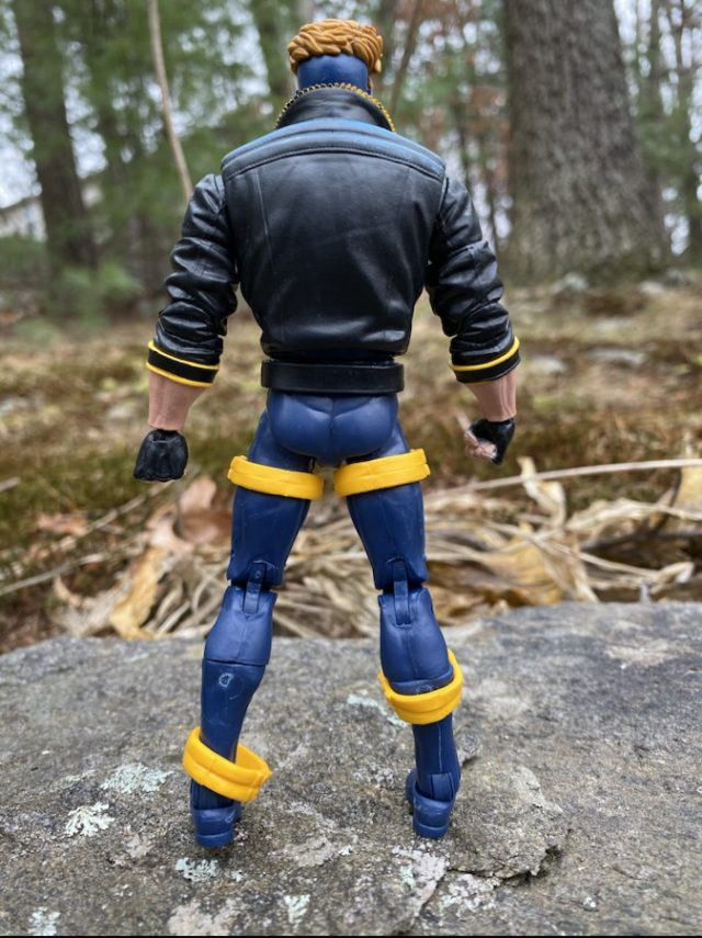 Add-On Costume Leg Loops Falling on Havok X-Men Legends Figure