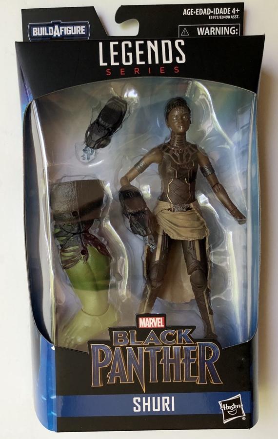 Marvel Legends Hulk Series Shuri Avengers Endgame Figure