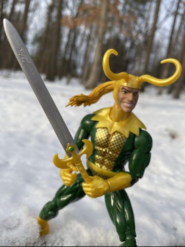 Hasbro Loki Legends Figure Sword 2019