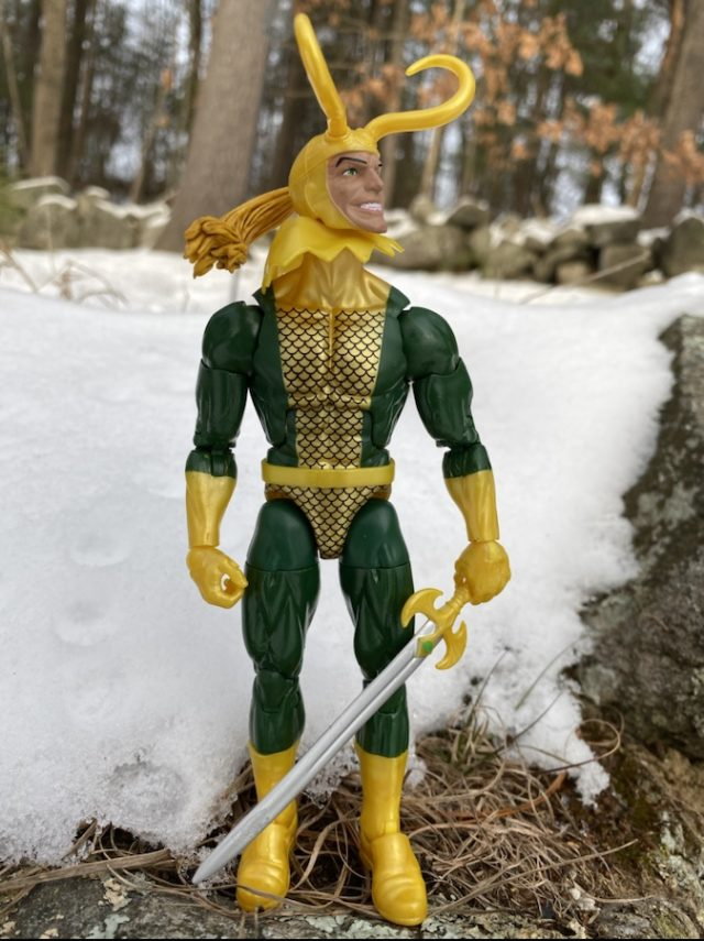 Hasbro Marvel Legends 2019 Loki Figure Review Classic Jack Kirby
