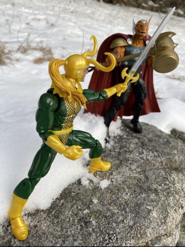 "Beta Ray Bill vs Loki Marvel Legends 6"" Action Figures"