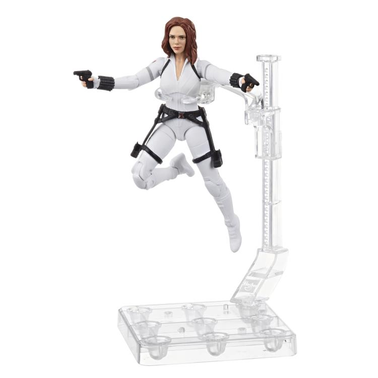 Black Widow Marvel Legends Deluxe White Costume Figure Up For Order Marvel Toy News