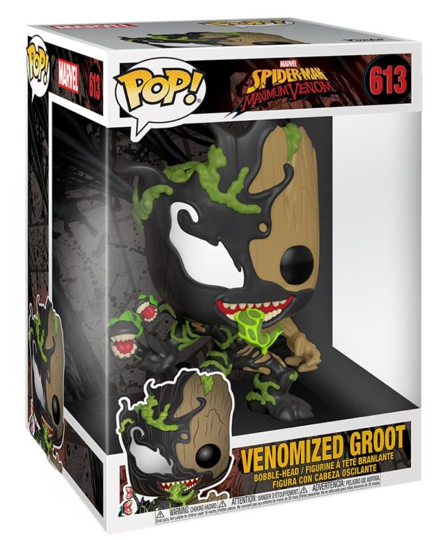 Funko Baby Groot Venomized Super Sized Figure in Box