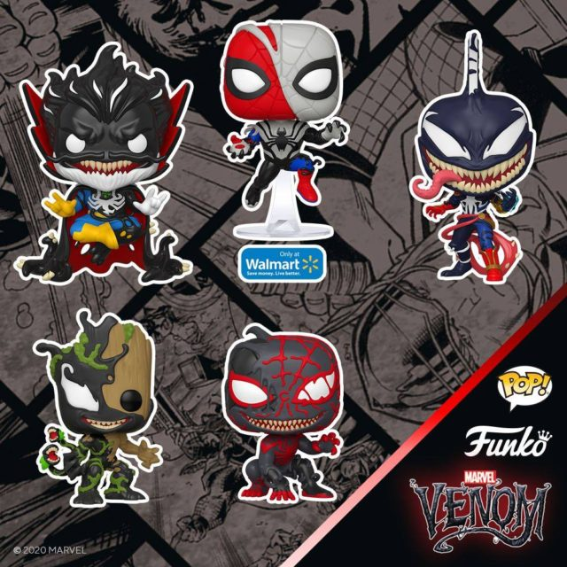 Funko POP 2020 Venomized Venom Series Vinyl Figures