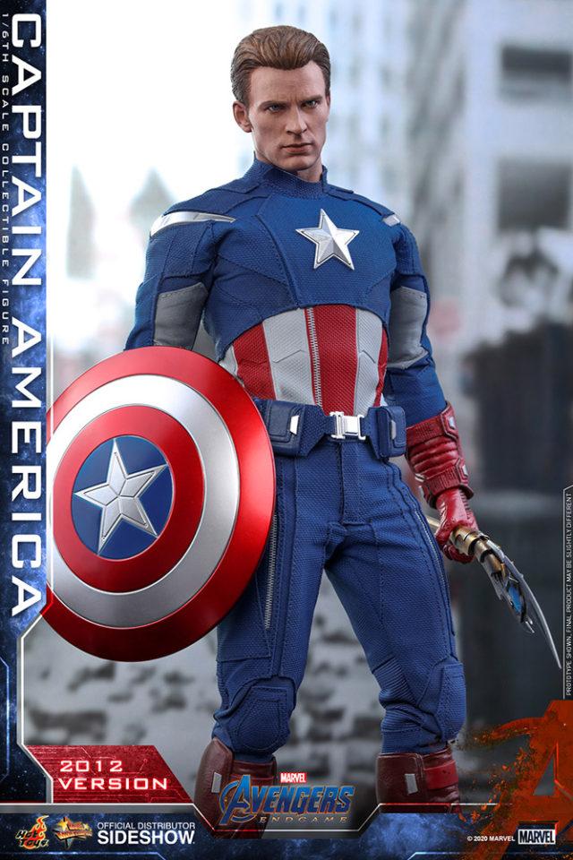 Hot Toys Captain America 2012 Version Sixth Scale Figure