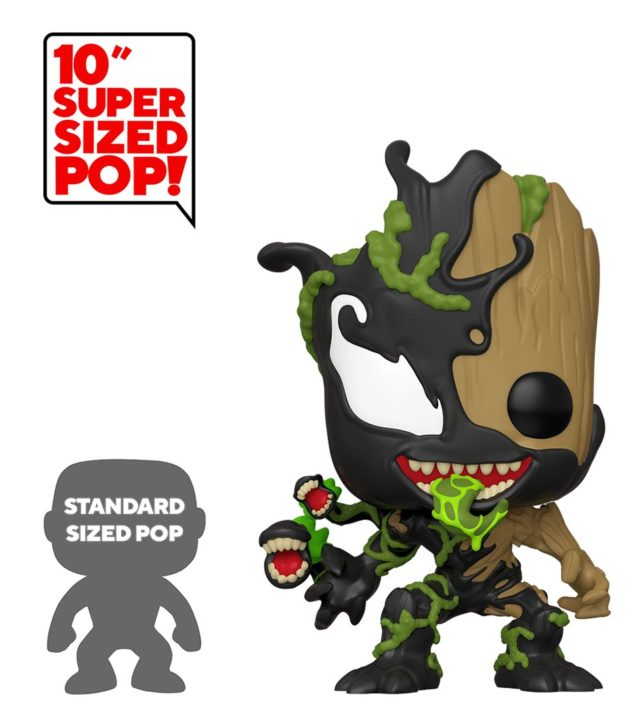 Super Sized Venom Groot Venomized Figure 10 Inch