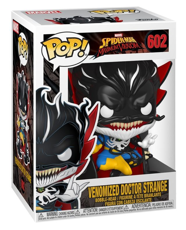 Venomized Doctor Strange POP Funko Maximum Venom