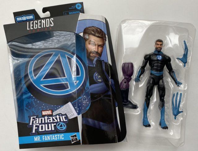 Unboxing Fanrtastic Four Legends Mister Fantastic Figure