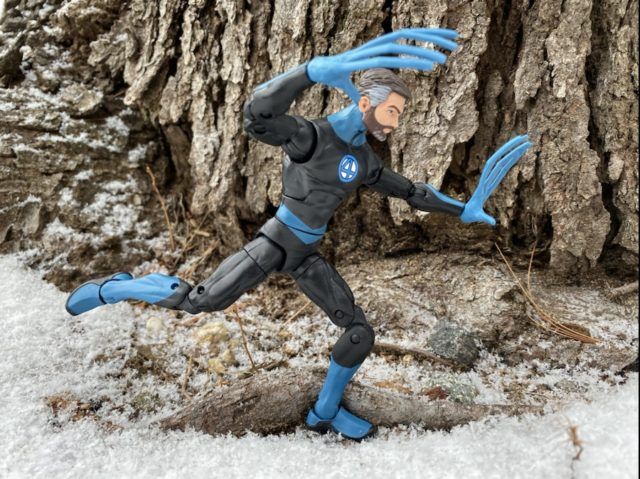 Mr. Fantastic Marvel Legends 2020 Figure Running