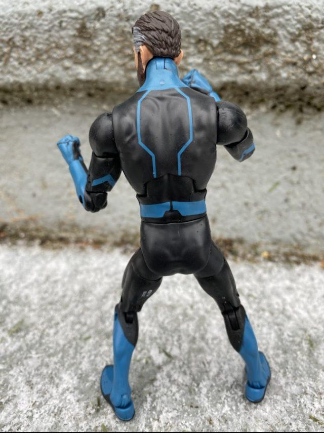 Back of Hasbro 2020 Marvel Legends Mr Fantastic Action Figure