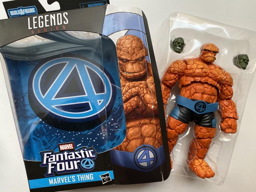 """La chose Marvel Legends Fantastic Four 6/"""" Action Figure BAF Super Skrull"""