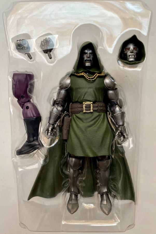 Doctor Doom Marvel Legends Super Skrull Series Figure and Accessories