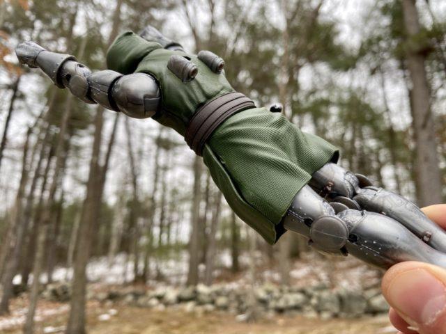 Flying Doctor Doom Marvel Legends Action Figure Back Thrusters