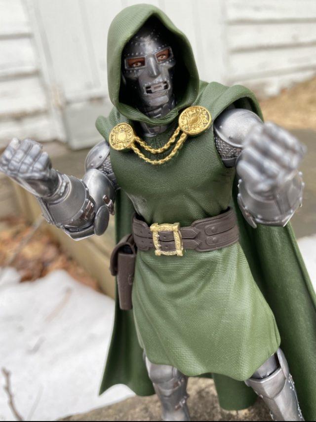 Classic Head on Dr Doom Super Skrull Series Marvel Legends Action Figure