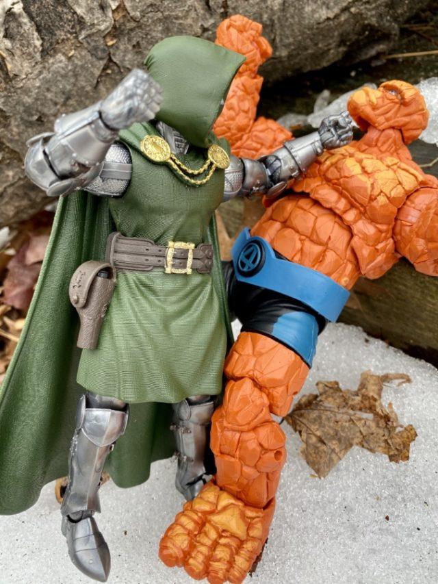 Fantastic Four Legends Thing vs Dr Doom