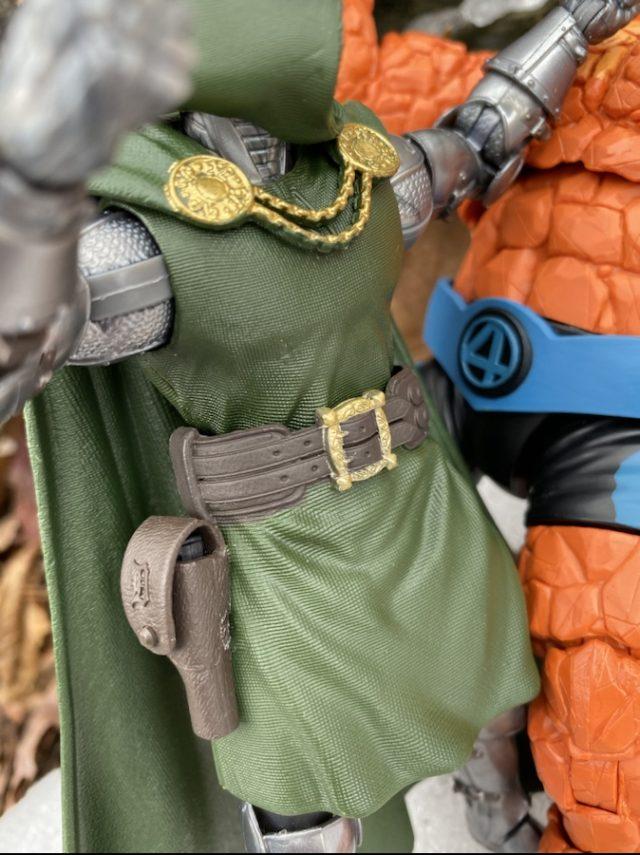 """Close-Up of Details on Fantastic Four Legends Doom 6"""" Figure"""