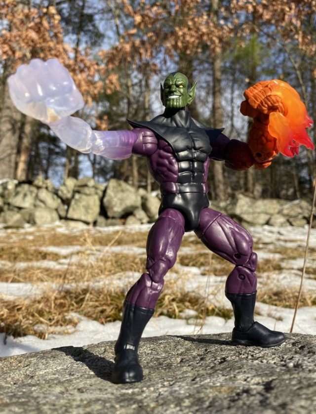 Review Marvel Legends Super Skrull Build-A-Figure