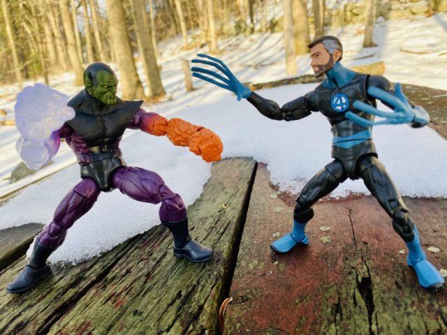 Fantastic Four Legends Super Skrull vs Mr Fantastic Figures