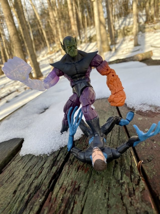 Marvel Legends Super Skrull BAF Review