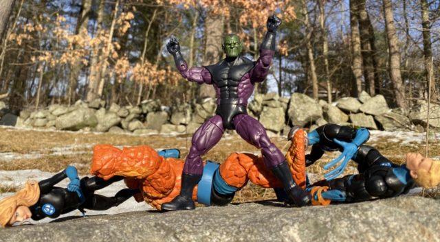 Hasbro Super Skrull Legends Figure Over Fantastic 4