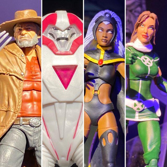 Marvel Legends 2020 Toy Fair Old Man Logan Nimrod Storm Rogue Figures