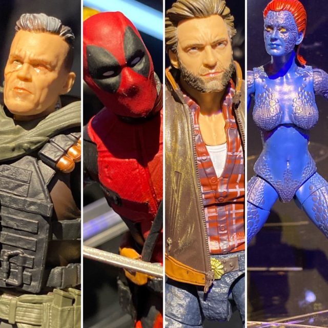 New York Toy Fair 2020 Marvel Legends X-Men Deadpool Movie Figures Revealed