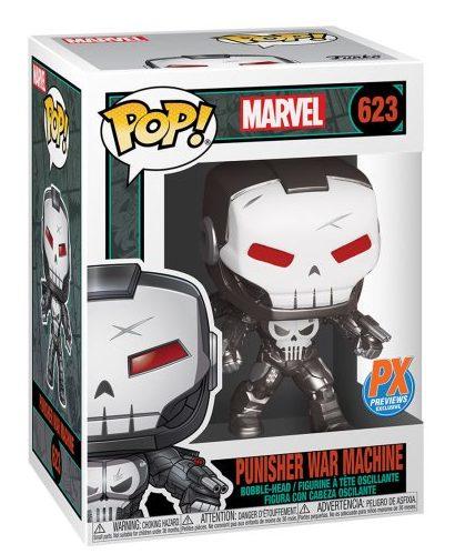 Funko POP Punisher War Machine Figure Packaged