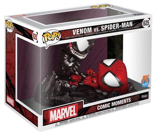 POP Venom vs Spider-Man Funko Diorama Two Pack Box