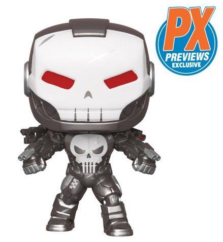Previews Exclusive War Machine Punisher POP Funko Figure