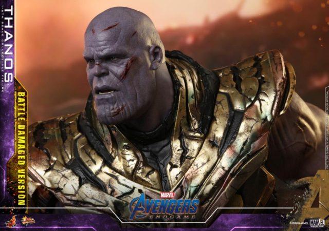 Sad Face Thanos Hot Toys Sixth Scale Figure