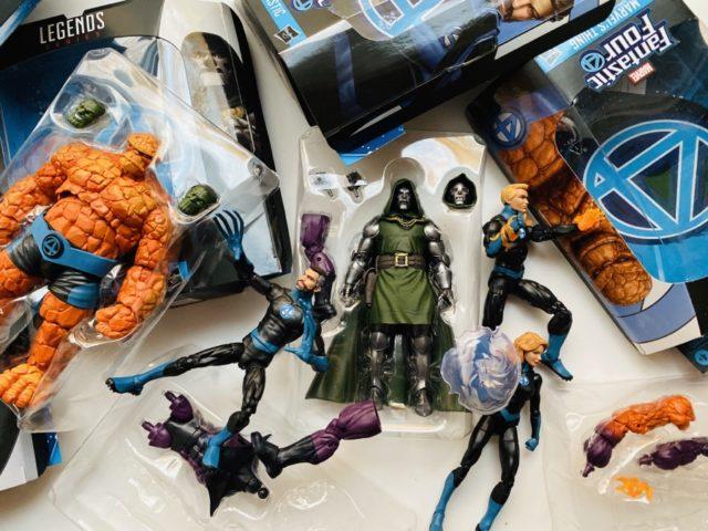 Marvel Legends Fantastic Four Wave Unboxing