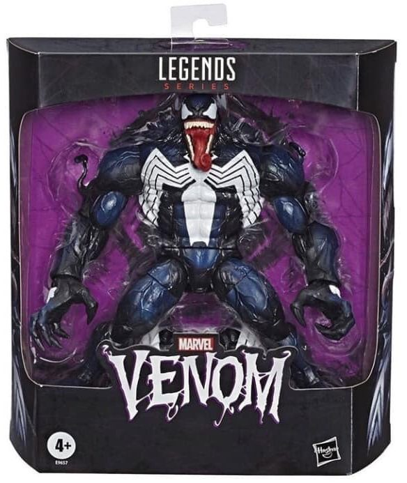 Marvel Legends 2020 Venom Build-A-Figure Repaint Packaged