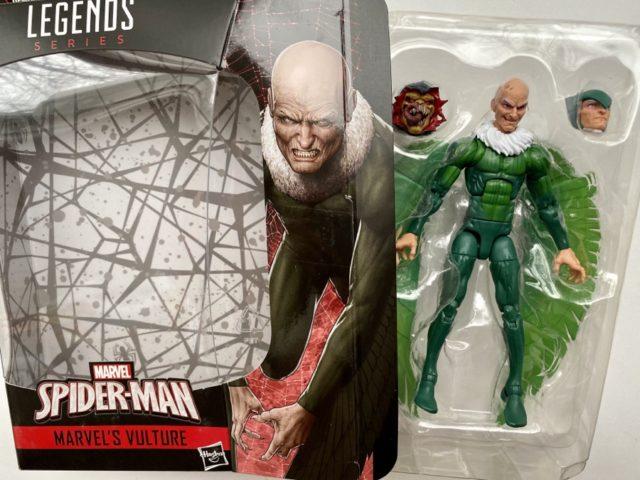 """Unboxing Marvel Legends 2020 Vulture 6"""" Figure"""